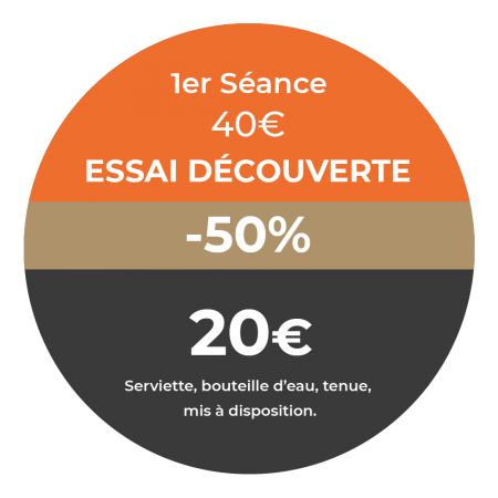 offre séance découverte -50% - studio 12 - toulouse